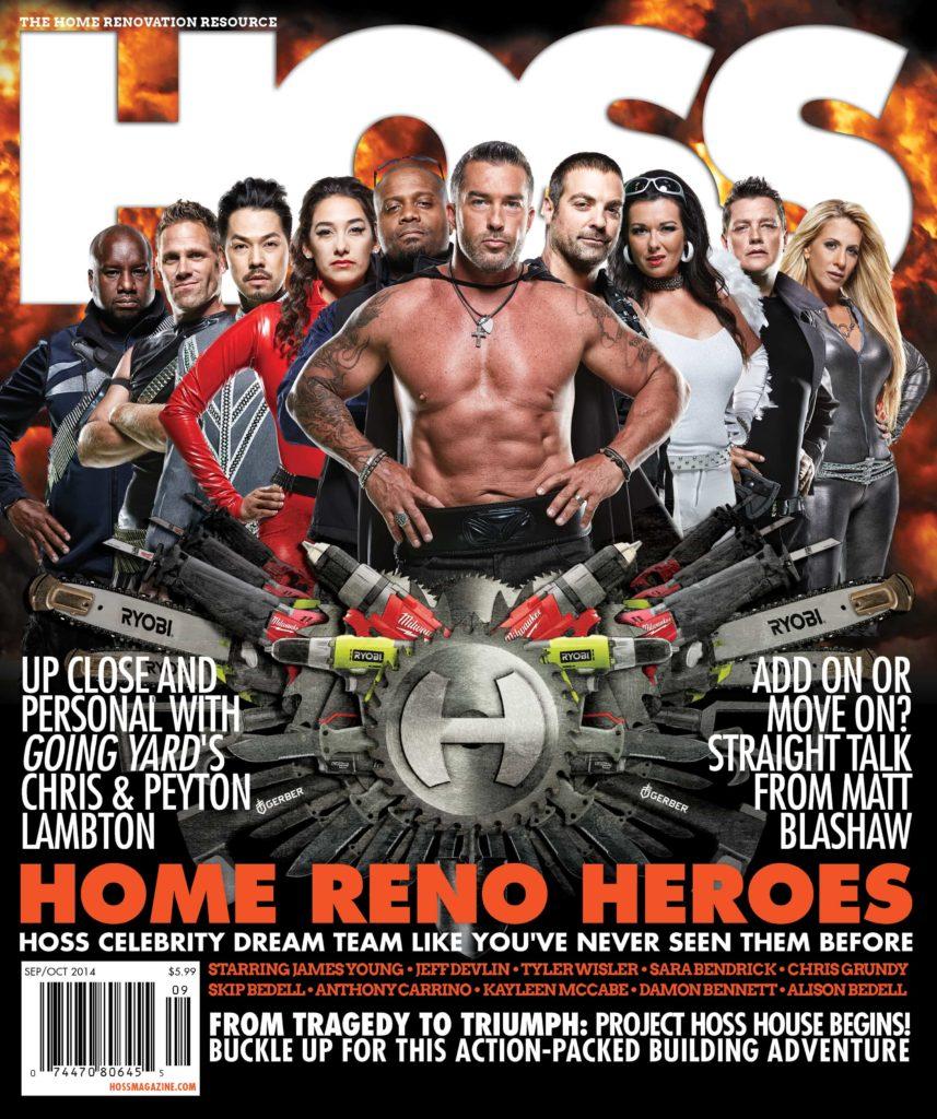 Skip Bedell Hoss Magazine Cover