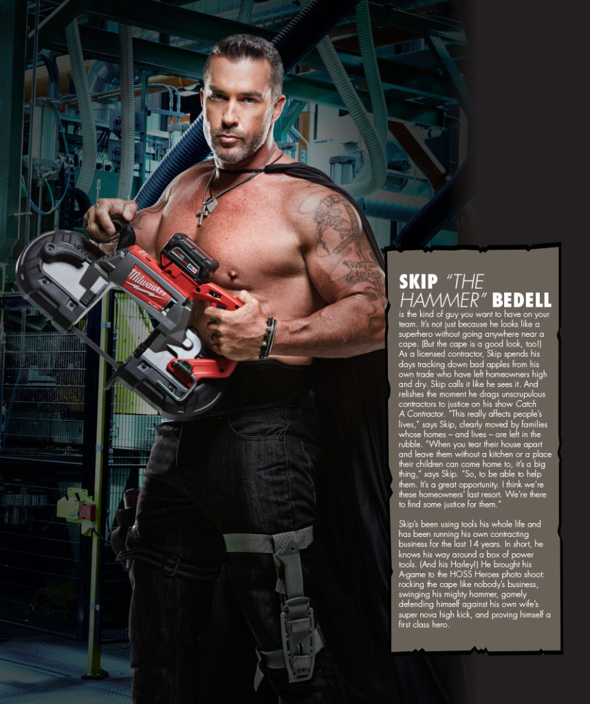 Skip Bedell Hoss Magazine Featured